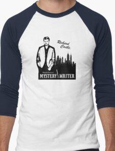 Richard Castle, Mystery Writer Men's Baseball ¾ T-Shirt