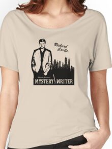 Richard Castle, Mystery Writer Women's Relaxed Fit T-Shirt