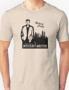 Richard Castle, Mystery Writer Unisex T-Shirt