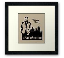 Richard Castle, Mystery Writer Framed Print