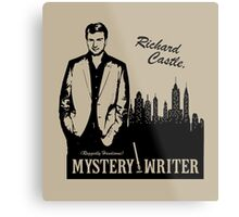 Richard Castle, Mystery Writer Metal Print