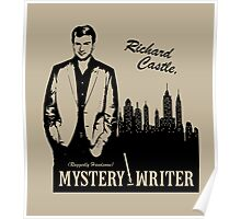 Richard Castle, Mystery Writer Poster