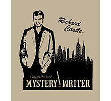 Richard Castle, Mystery Writer Photographic Print