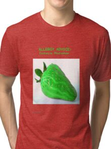 Allergy Advice Tri-blend T-Shirt