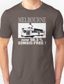MELBOURNE - Now 98.3% zombie-free! Unisex T-Shirt