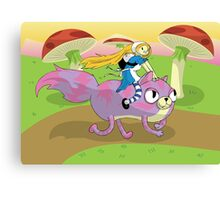 Adventure Time! with Alice and Chesh Canvas Print