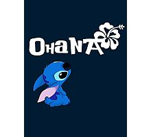 Stitch - Ohana Photographic Print