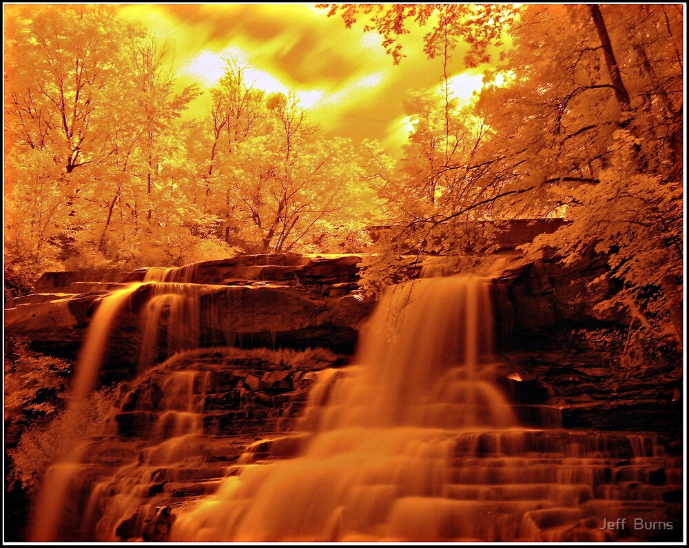 Brandywine Falls by Jeff  Burns