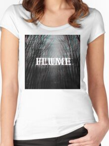 Flume - Trippy Edit Women's Fitted Scoop T-Shirt
