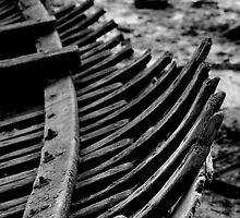 boat bones by Andrew Walker