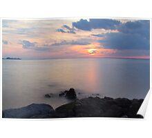 Sandy Hook Sunset Poster