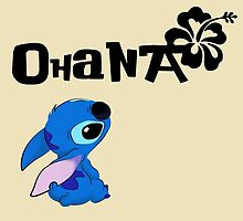 Stitch - Ohana by HiddenCorner