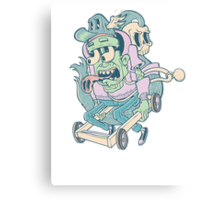Death Race Canvas Print
