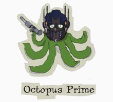 Octopus Prime Kids Clothes