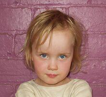 little blue eyed girl... by daantjedubbledutch