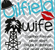 Oilfield Wife - Blue by lakeon
