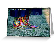 Beaded Moccasins Greeting Card