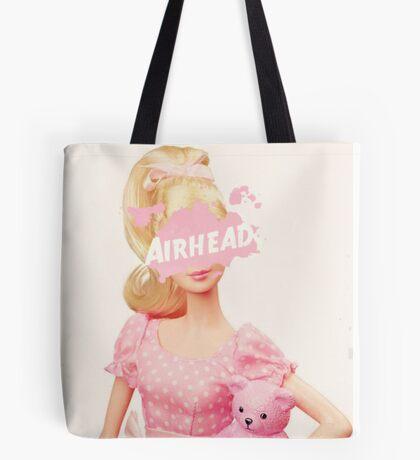Blonde 'Airhead' Doll Tote Bag