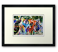 Young Fancy Dancers in Motion Framed Print