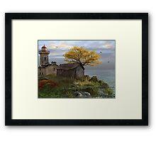 Little Island Bay Framed Print