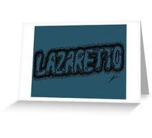 Jack White - Lazaretto Greeting Card