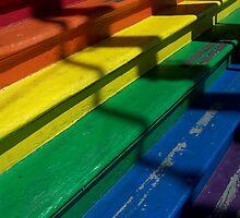 Rainbow Stairs by kalliope94041