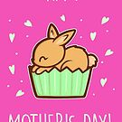 Bunny Cupcake Mother's Day Card by perdita00