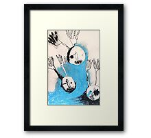 night men without bodies Framed Print