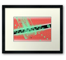 X-radiation Framed Print