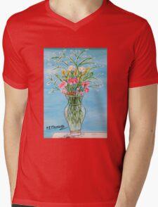 Un segno Mens V-Neck T-Shirt