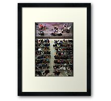 Music From Above Framed Print