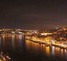 Porto at night by Manuel Gonçalves