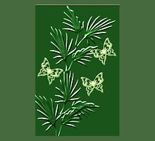 A leaf with butterfly ( Wall Art) design  (3854  Views) by aldona