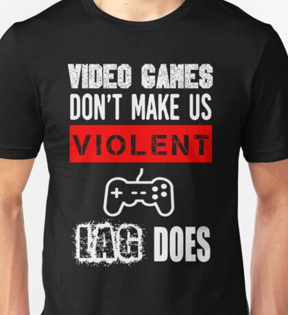 VIDEO GAMES  Unisex T-Shirt