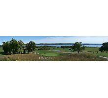 Lake Course - Rice Lake,Ontario Photographic Print