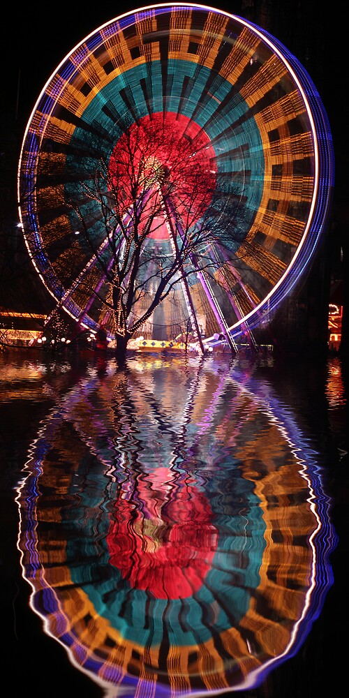 The Big Wheel by Chris Clark