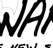 Awake is the new sleep! Sticker
