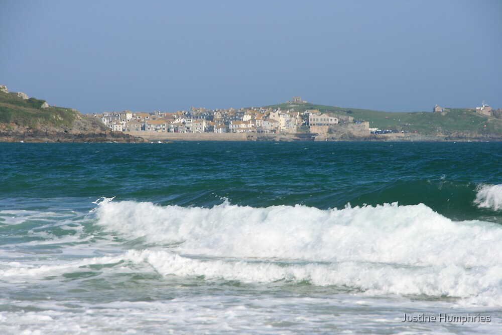 Towards St Ives by Justine Humphries
