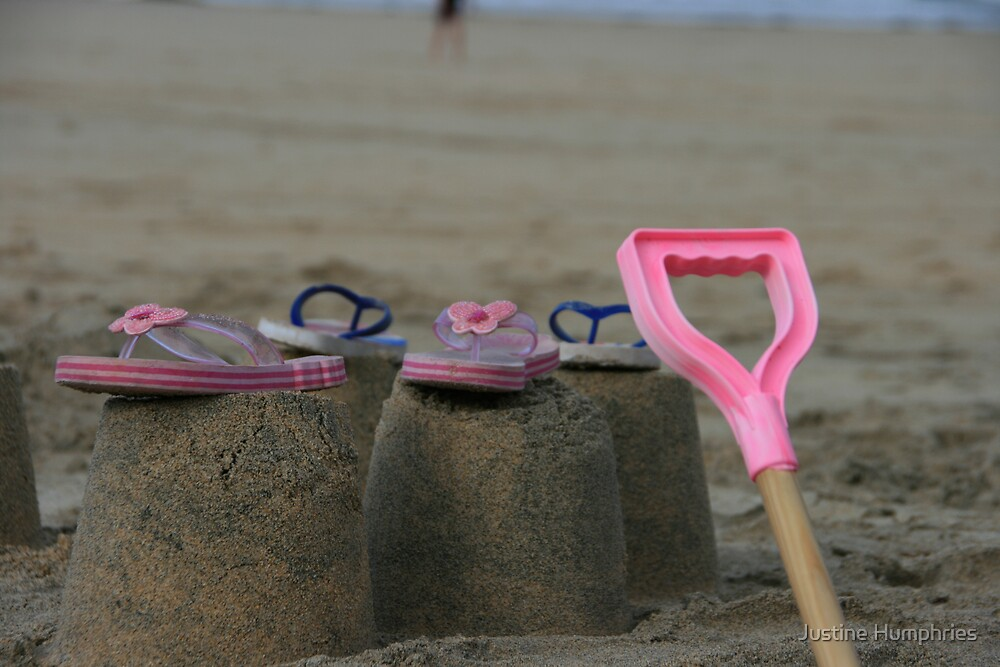 Sandcastles and Flip Flops by Justine Humphries