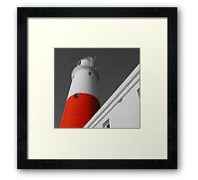 portland bill lighthouse. Framed Print
