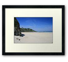 Porth Kidney Sands Framed Print
