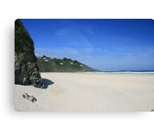 Porth Kidney Sands Canvas Print