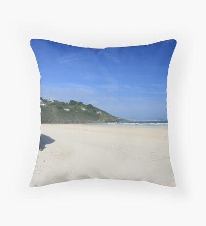 Porth Kidney Sands Throw Pillow