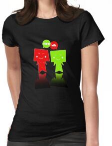 YOU+ME Womens Fitted T-Shirt