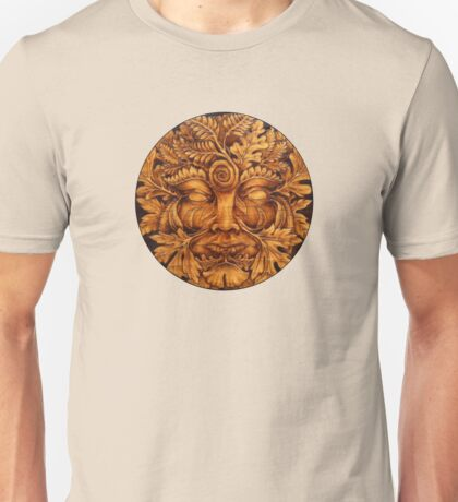 Mask of the GreenMan Unisex T-Shirt