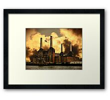 Pigs On The Wing Framed Print