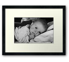 Terry Towel Framed Print