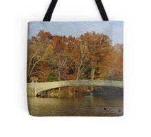 Bow Bridge, Central Park, New York Tote Bag