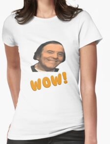 Eddy wally WOW! Womens Fitted T-Shirt