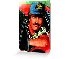 Magnum PI Greeting Card